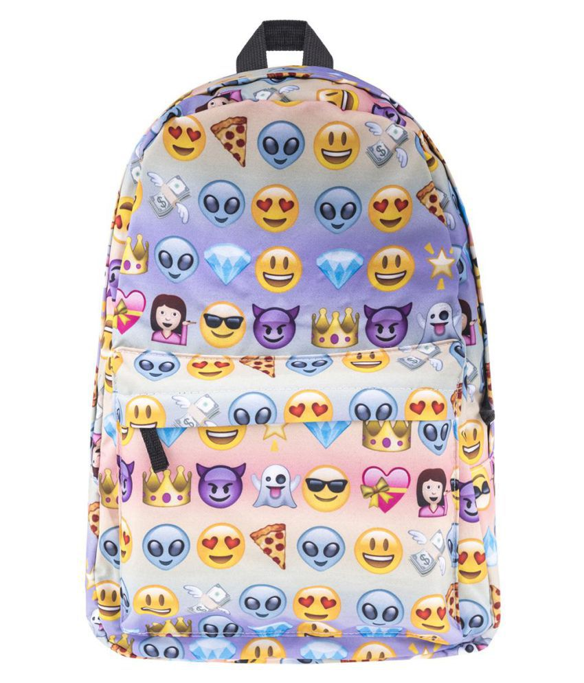 Emoji Backpack 3D Printing Package Bag travel Backpack for Kids Girls/Boys Daypack