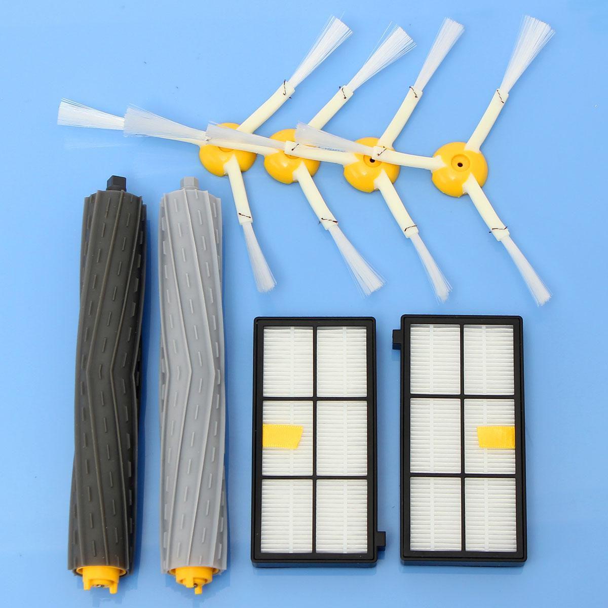 Hepa Filter & Brush kit For iROBOT ROOMBA 800 900 series 880 870 900 980 cleaner