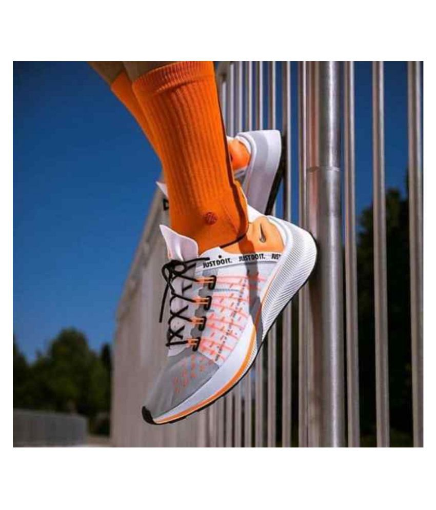 58f9eb257fbb Nike EXP-X14 Just Do It White Running Shoes - Buy Nike EXP-X14 Just Do It  White Running Shoes Online at Best Prices in India on Snapdeal