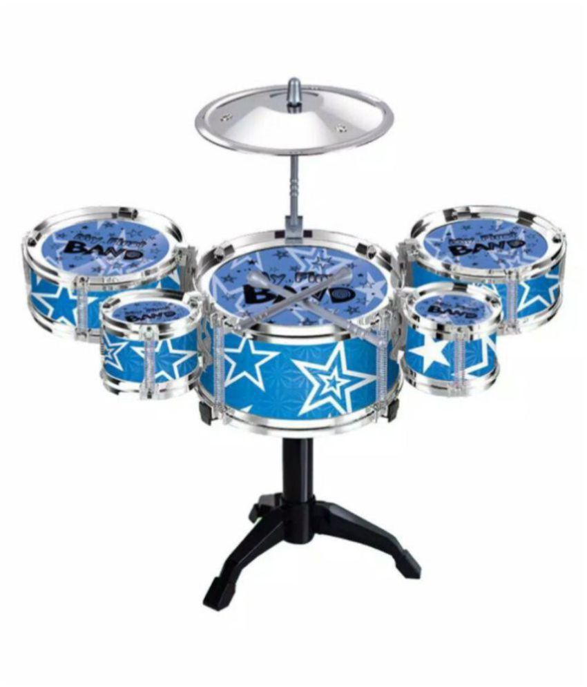 OH BABY;BABY The New And Latest Jazz Drum Set For Kids With 3 Drums And 2 Sticks SE-ET-185