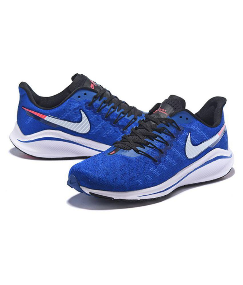 8d5ab053dc324 Nike Air Zoom Vomero 14 2019 Running Shoes Blue For Gym Wear  Buy ...
