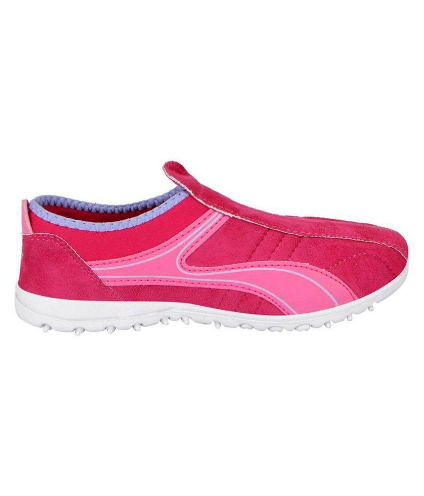 Bata Pink Girls Casual Shoes Price in India- Buy Bata Pink Girls ...