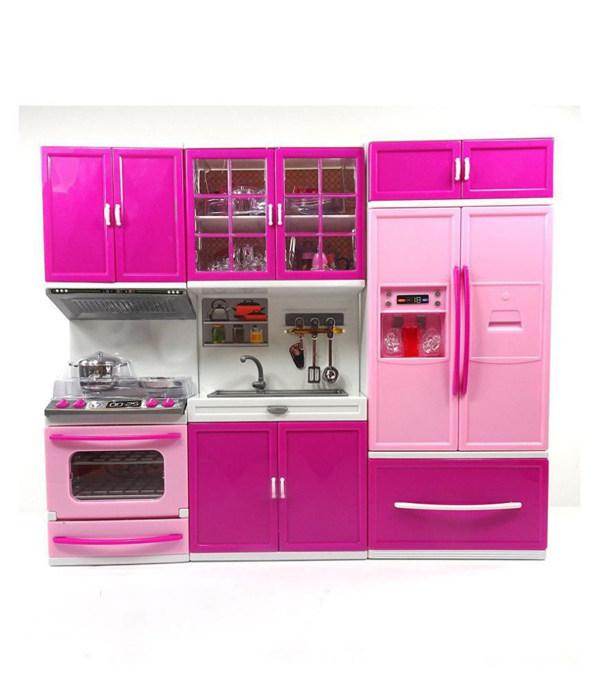 latest home need beautiful barbie kitchen set buy latest home need rh snapdeal com