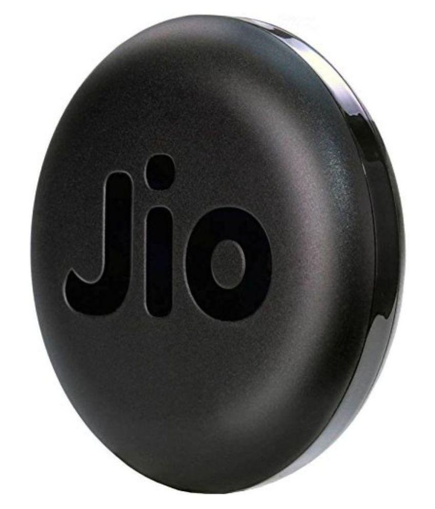 JioFi JMR1040 150Mbps Router Hotspot Data Card (Black)