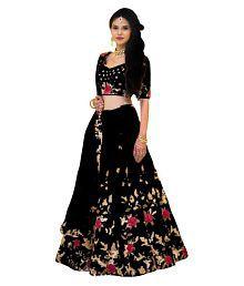 18e79be087 Black Lehenga: Buy Black Lehenga for Women Online at Low Prices in ...