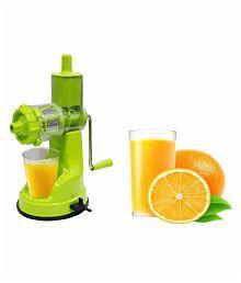 Parthu Fruit & Vegetable Hand Juicer Light Green Manual 25 Watt Citrus Juicer