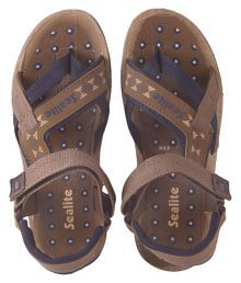 SeaLite kid's Sporty Sandals 104 brown