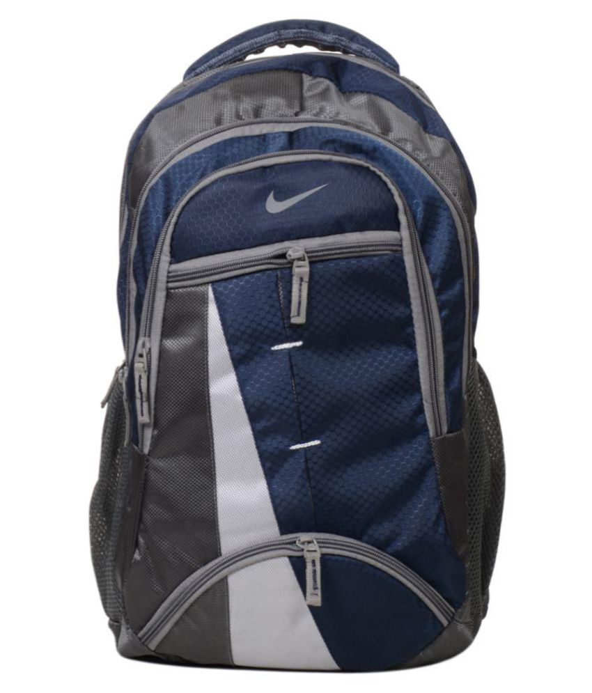 Nike Branded Navy Blue Polyester College Bags Backpacks- 25 Ltrs - Buy Nike  Branded Navy Blue Polyester College Bags Backpacks- 25 Ltrs Online at Low  Price ... d957b44f69a34