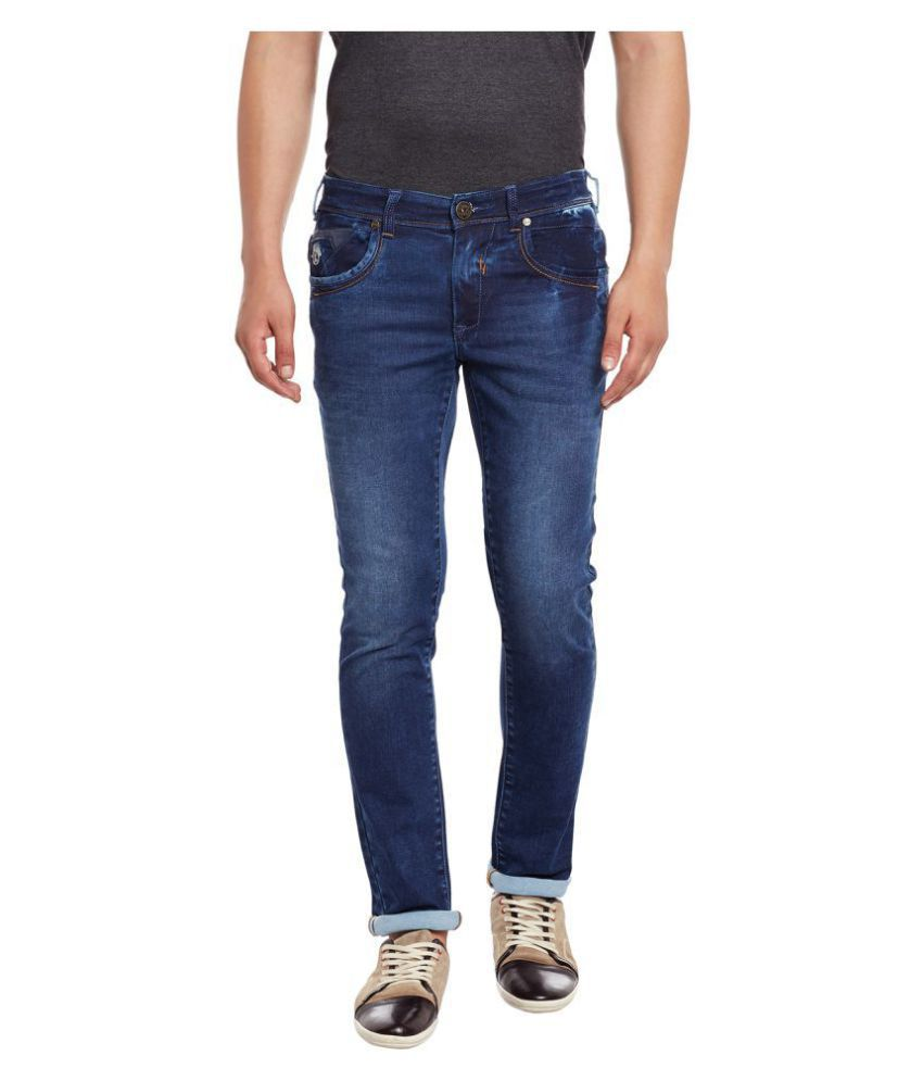 e890ece50 Canary London Blue Slim Jeans - Buy Canary London Blue Slim Jeans Online at  Best Prices in India on Snapdeal
