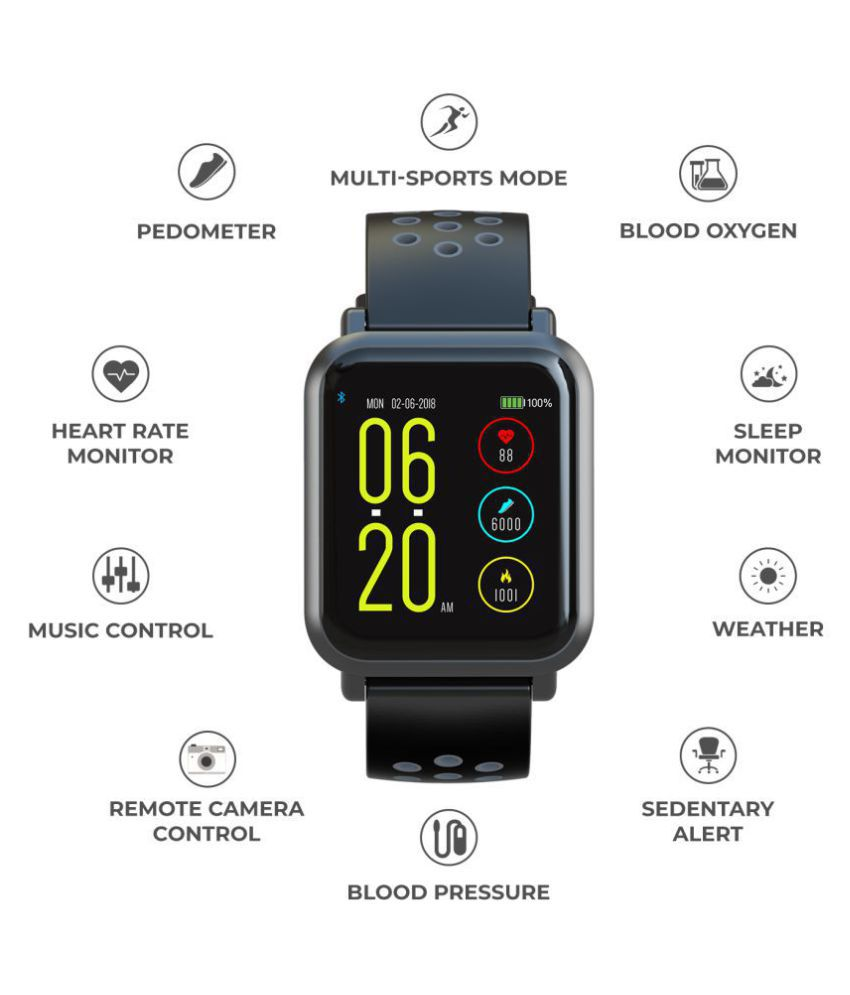 0b603a519 ... Noise Colorfit Pro Fitness Band (Grey-Black) Smart Watches ...