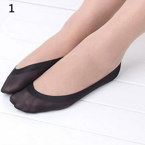 Women Fashion Inviside Light Boat Socks Silicone Anti-Slip Short Ankle Stockings