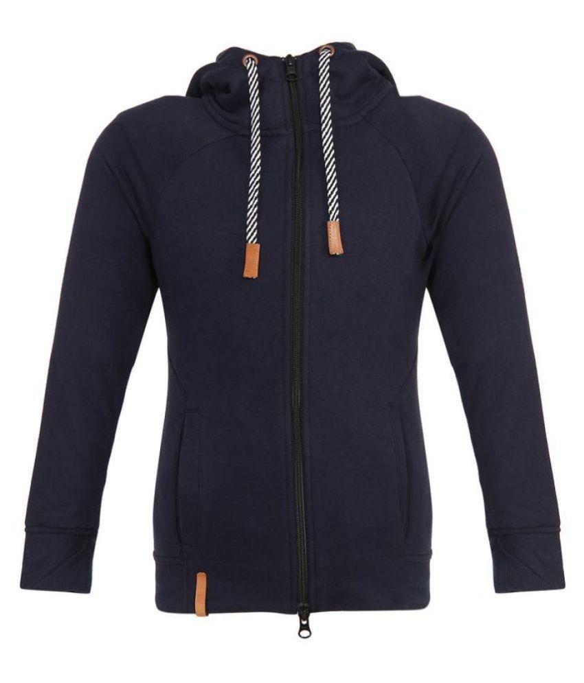 PROMONT Junior girls knitted Sweatshirt hoodies navy