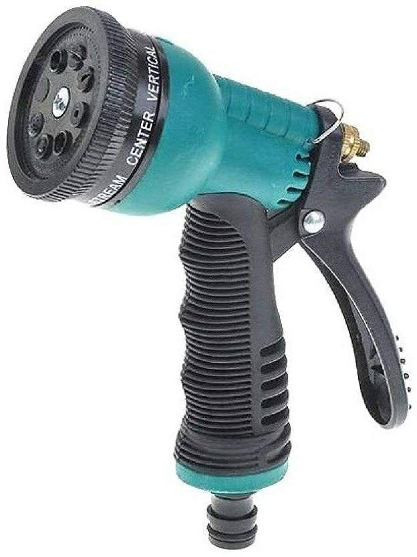 Water Spray Gun Nozzle 8 Mode For Garden/Car/Bike/Pet Wash