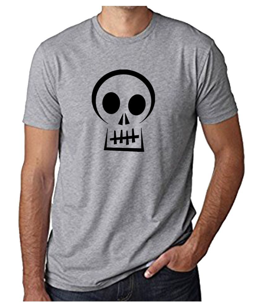 The Heyuze Haat Grey Half Sleeve T-Shirt Pack of 1