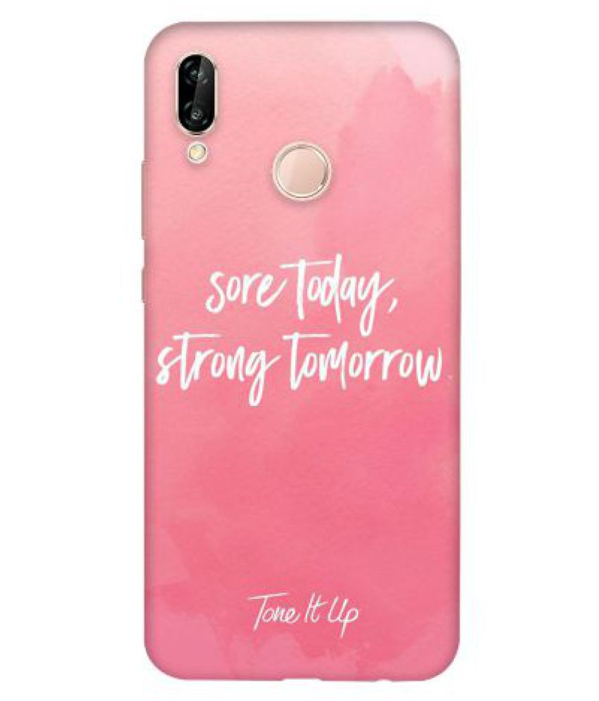 Huawei P20 Lite Printed Cover By Emble