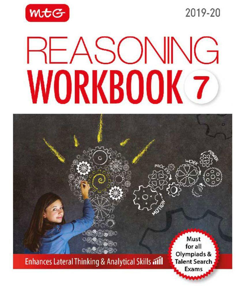 Olympiad Reasoning Workbook - Class 7 (2019-20)