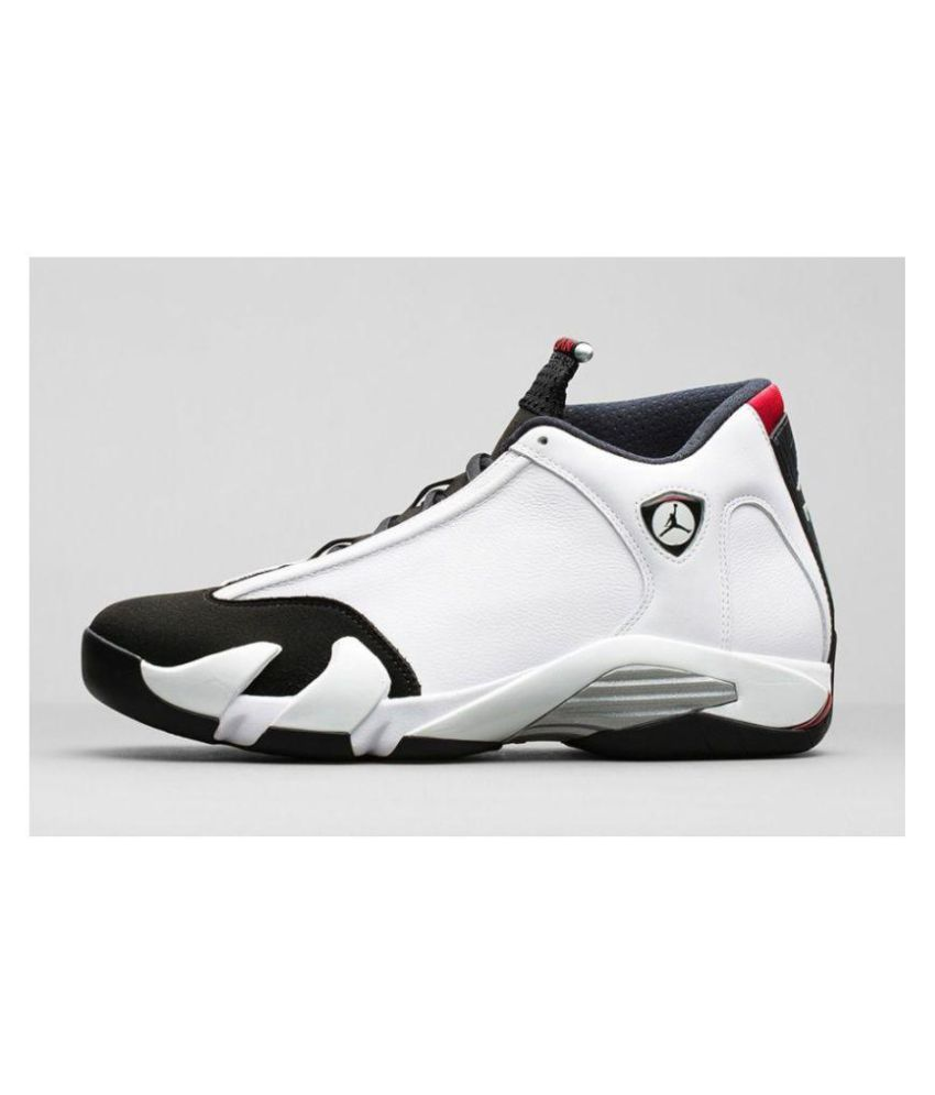 quality design 76f32 0e7fd Nike Air Jordan 14 Ferrari White Black Midankle Male White