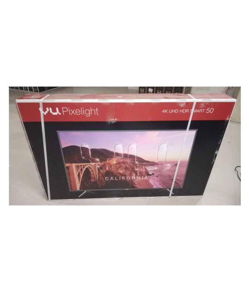 Vu LEDN50K310X3D 122 cm   50   3D Smart Ultra HD  4K  LED Television