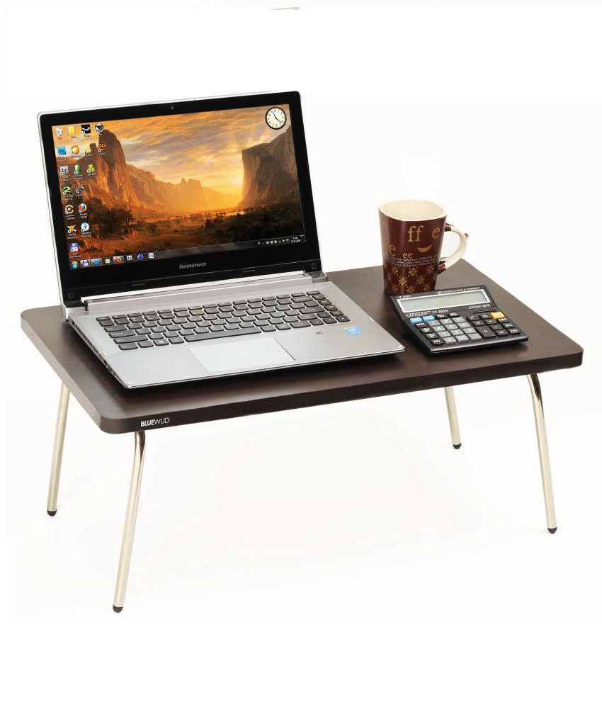 Bluewud Laptop Table For Upto 40.64 cm (16) Brown
