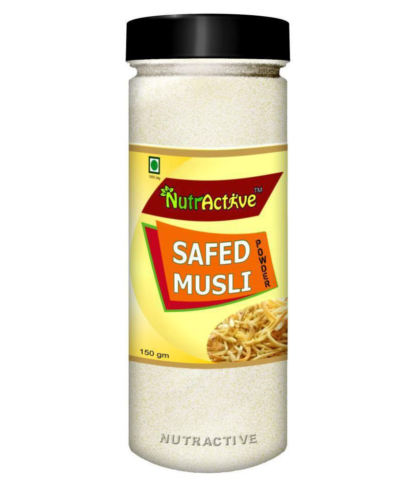 NutrActive Safed Musli 150 gm Minerals Powder