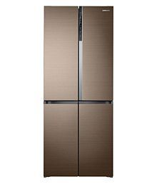 Samsung 594 Ltr No Star RF50K5910DP 4 DOOR Multi Door Refrigerator - Gold