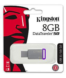 SOMOTO Kingston DataTraveler 8GB USB 3.1 Utility Pendrive Pack of 3