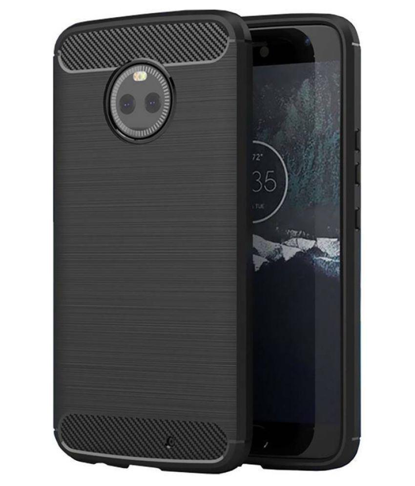 Motorola Moto X4 Hybrid Covers Hopsack - Black