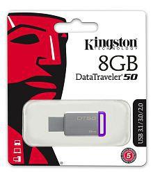 SOMOTO Kingston DataTraveler 8GB USB 3.1 Utility Pendrive Pack of 5