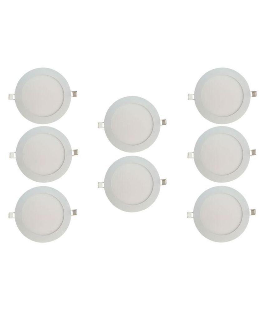 Bene 6W Round Ceiling Light 12 cms. - Pack of 8