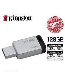 SOMOTO Kingston MicroDuo 128GB USB 3.1 Utility Pendrive Pack of 1