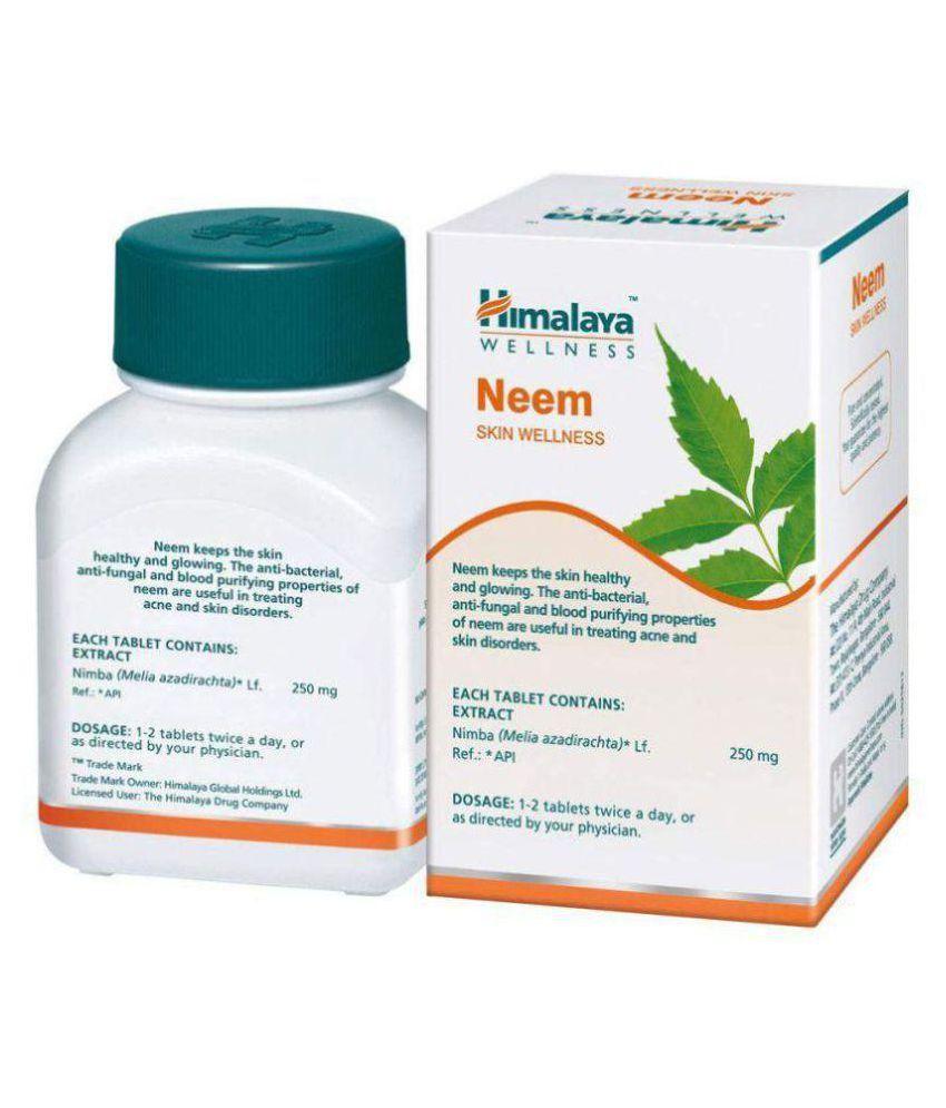 Herbalshoppe Himalaya Neem (60x4=240) Tablet 60 no.s Pack Of 4