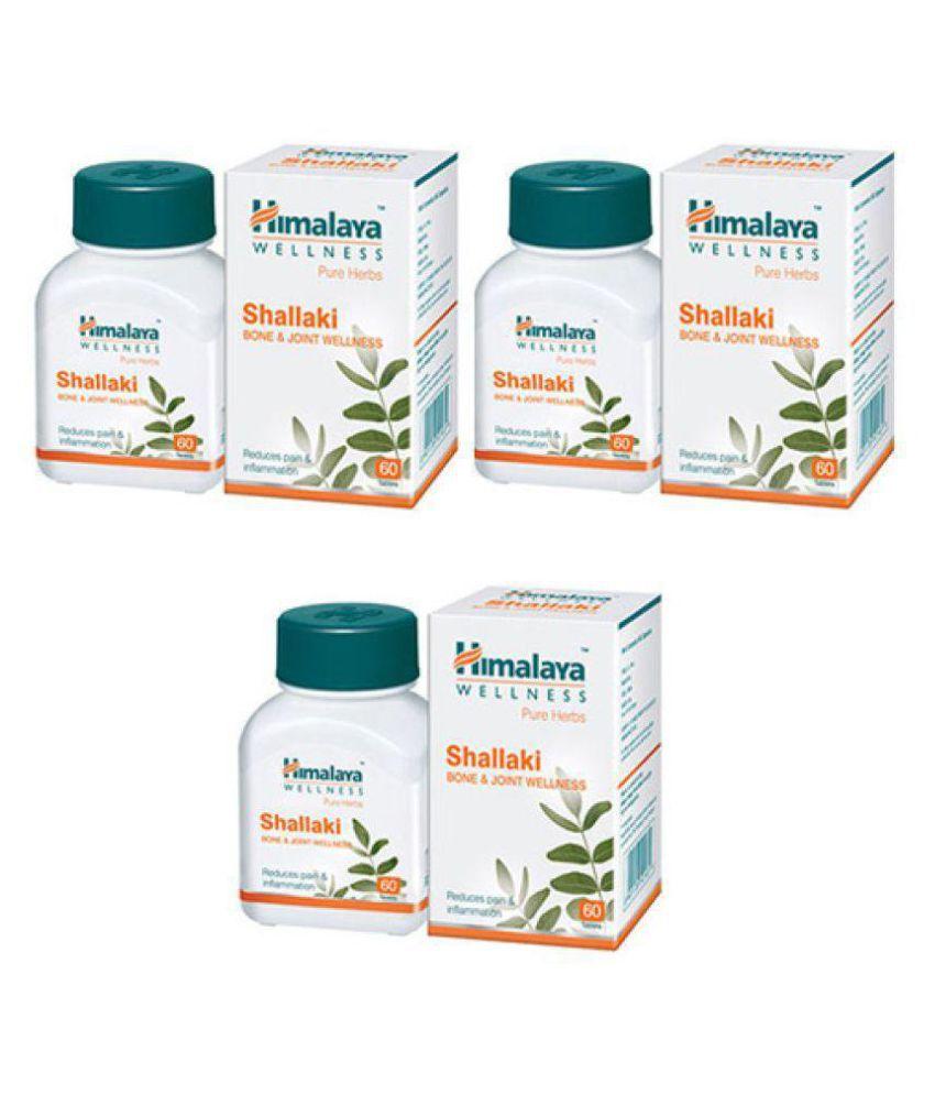 Herbalshoppe Himalaya Shallaki (60x4=240) Tablet 60 no.s Pack Of 4