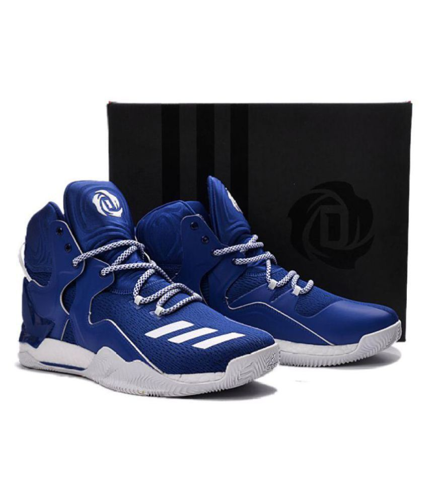 75cfd531f85c Adidas D ROSE 7 PRIMEKNIT Blue Basketball Shoes - Buy Adidas D ROSE 7  PRIMEKNIT Blue Basketball Shoes Online at Best Prices in India on Snapdeal