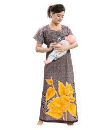 c850ecf7ee339 Maternity Nightwear: Buy Maternity Nightwear Online at Best Prices ...