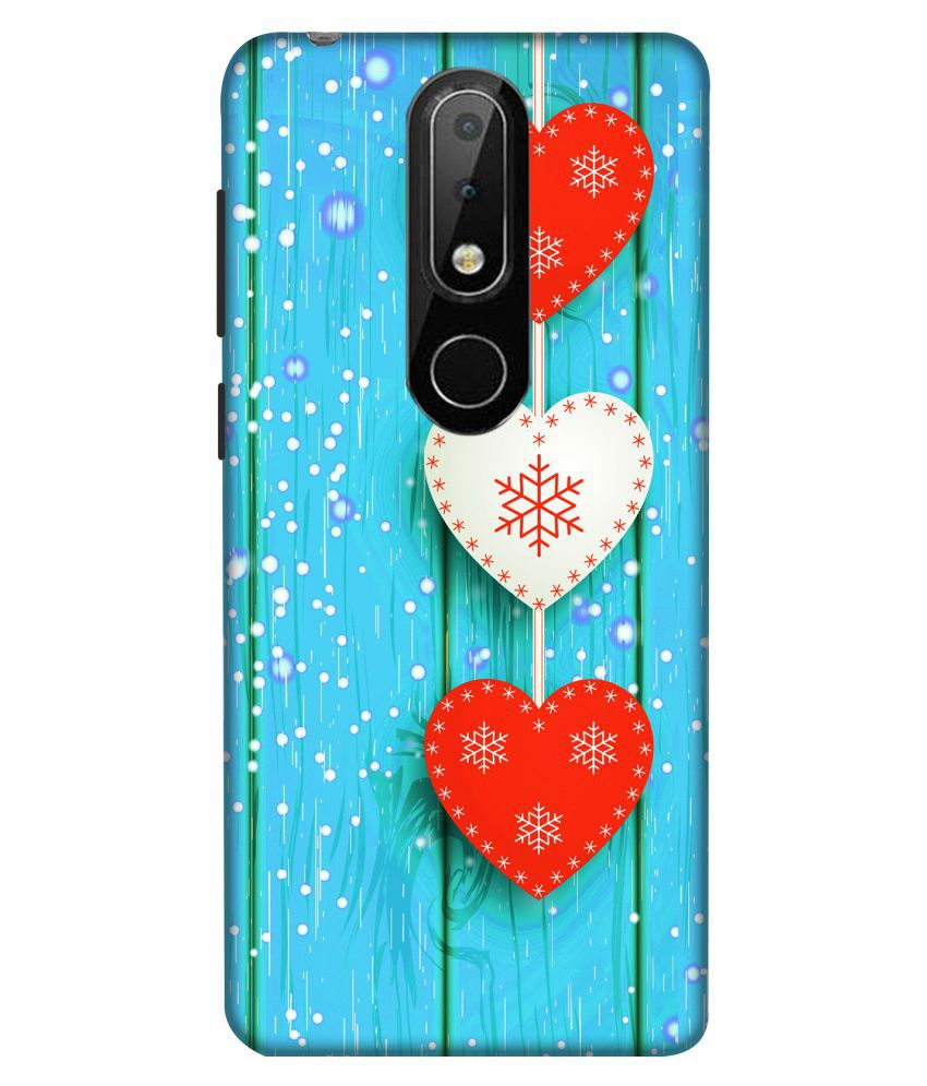 Nokia 6.1 Plus 3D Back Covers By Crockroz New Wallpaper Printed
