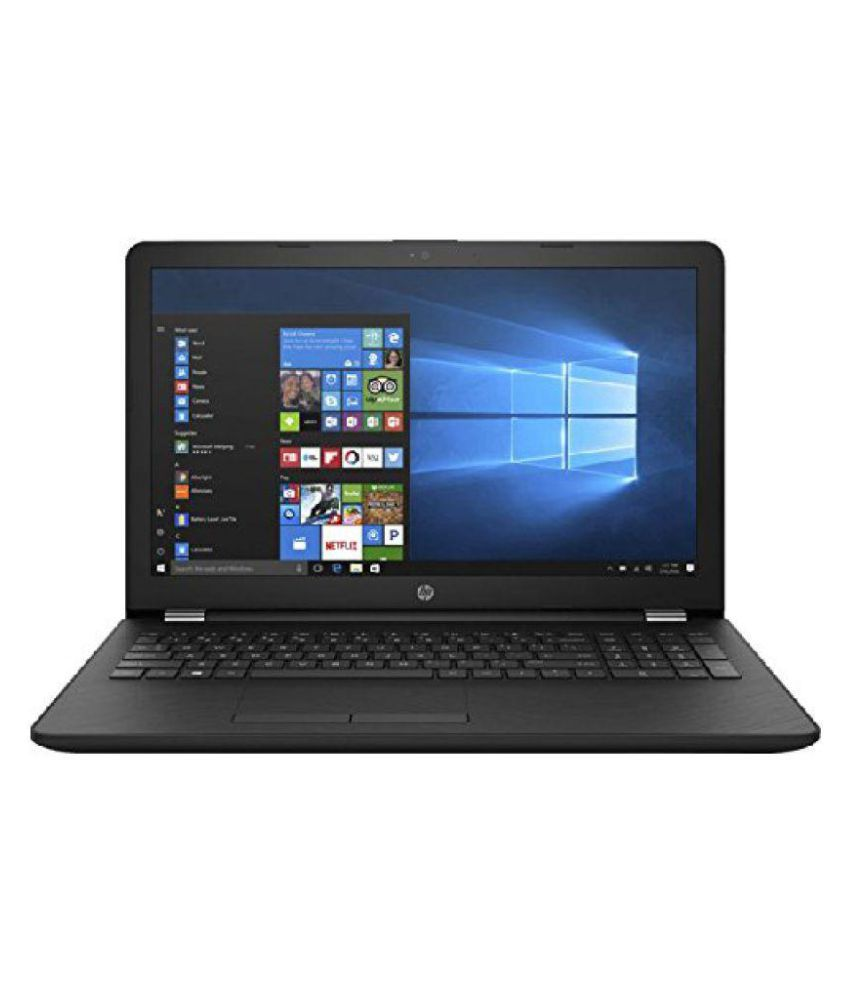HP 15 AMD E2 15.6 inch Entry Level Laptop  4 GB /1TB HDD/Windows 10 Home/Jet Black/2.04 Kgs , 15q dy0001au