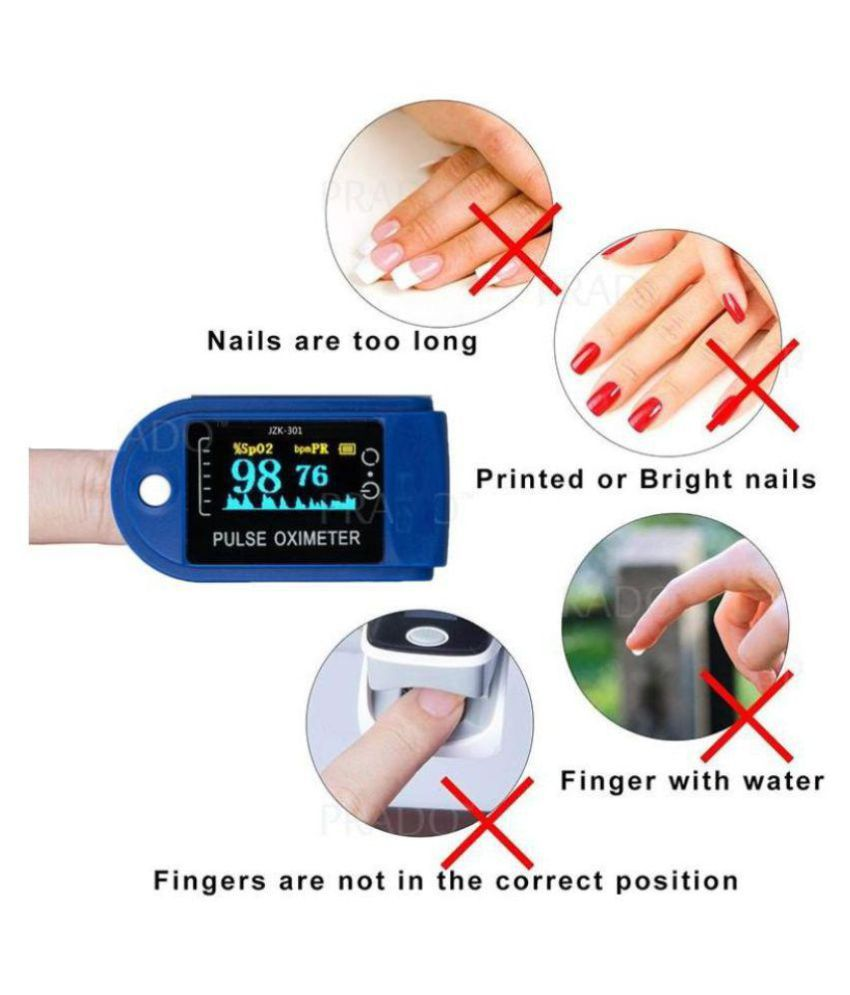 New Improved Instant Read OLED Digital Finger Pulse Oximeter Spo2h Blood  Oxygen Monitor Arterial Saturation Monitor With Pulse Rate Monitor Heart  Rate