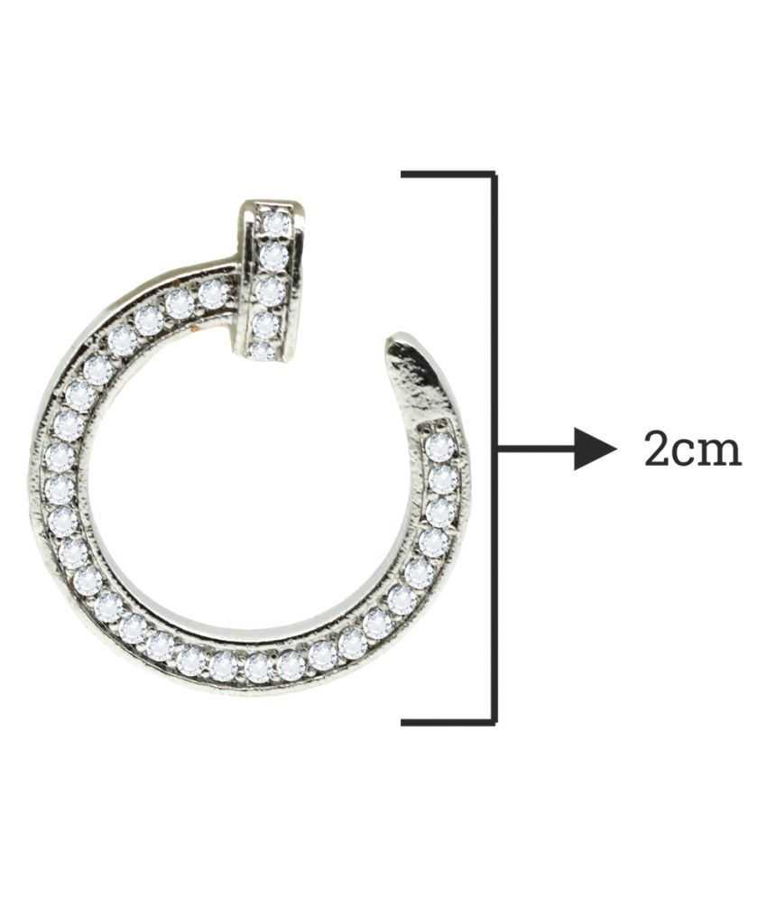 Kiyara Accessories Fashion Jewellery Tiffany Round Nail Stud