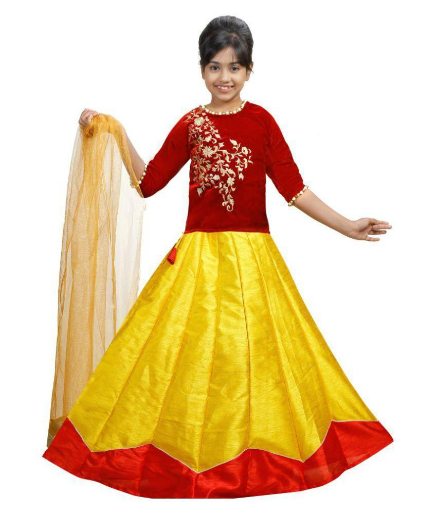 0f980dba75 indo western crop top skirt set/ lehenga choli set - Buy indo western crop  top skirt set/ lehenga choli set Online at Low Price - Snapdeal