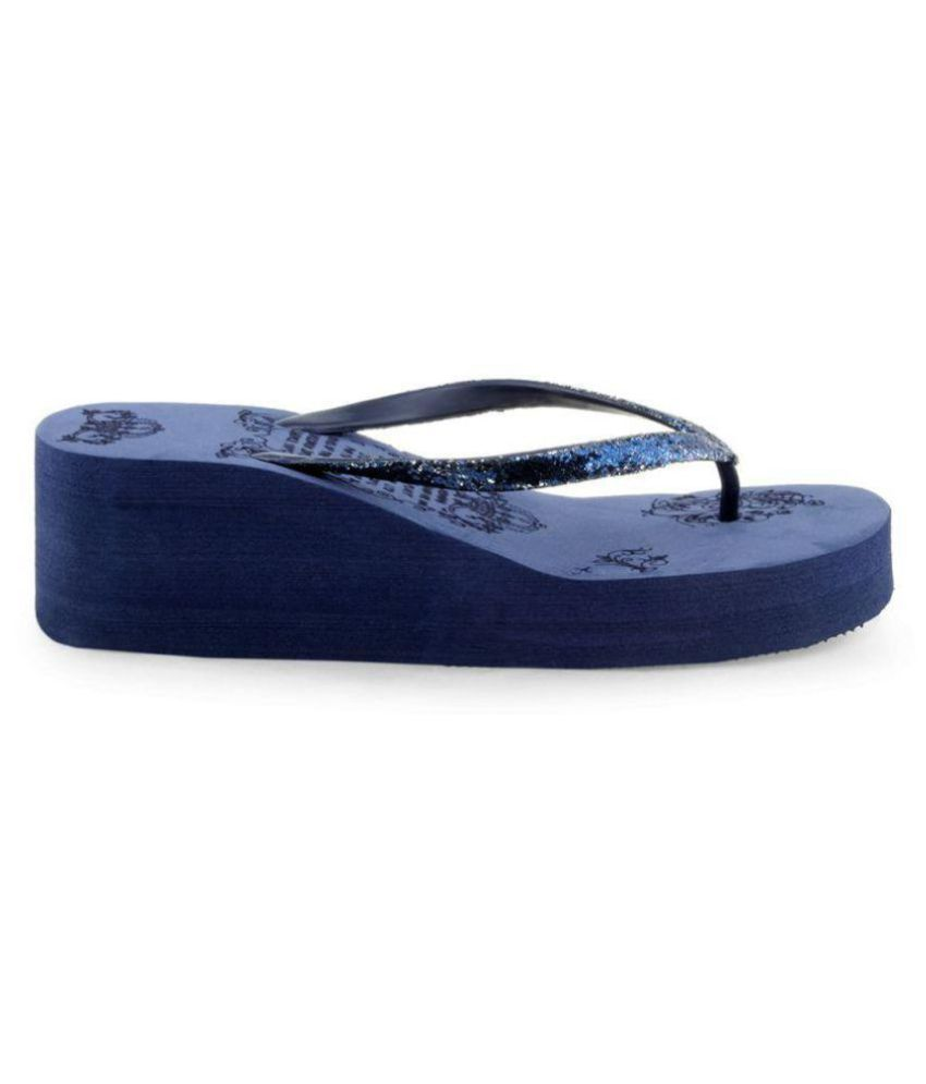 KD Slipper Blue Slippers