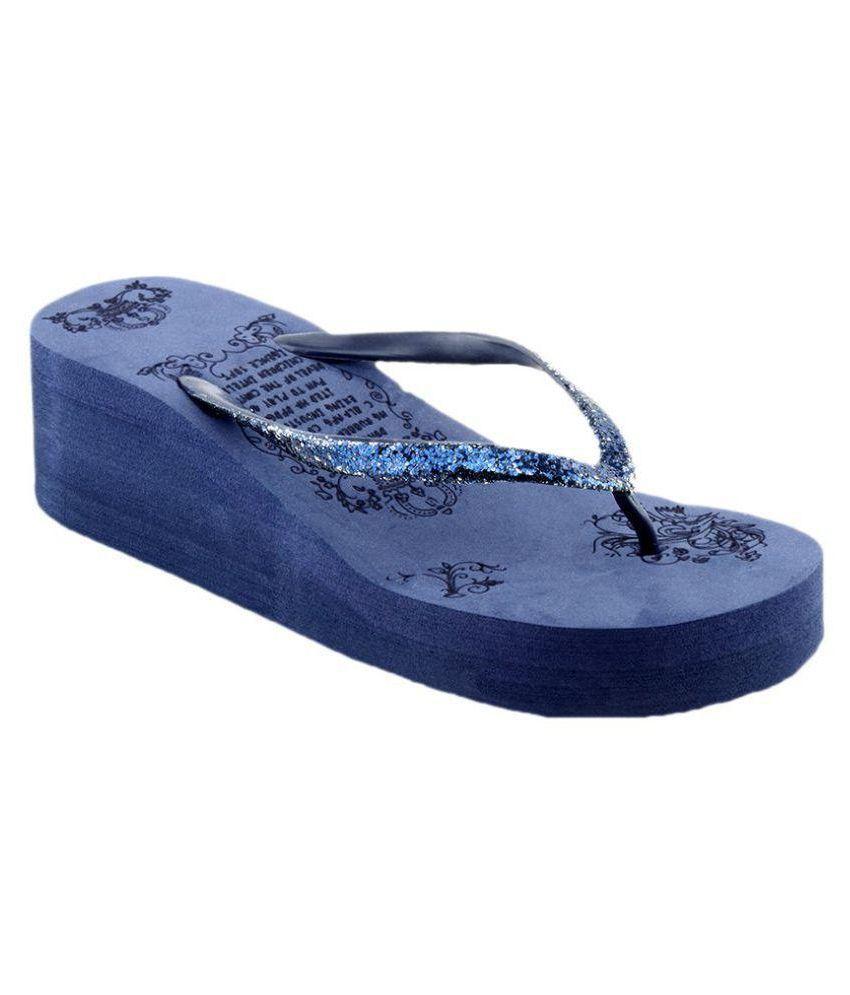 KD Slipper Blue Slippers