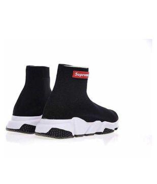 delicate colors hot sale online buy online Balenciaga X Supreme Running Shoes Black: Buy Online at Best ...