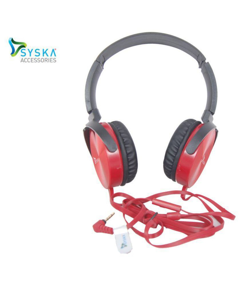 bce029e27b3 flipbuy syska hs3100-bk Over Ear Wired Headphones With Mic - Buy flipbuy  syska hs3100-bk Over Ear Wired Headphones With Mic Online at Best Prices in  India ...