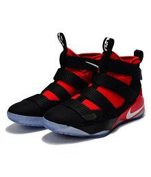 548a5884d871f Quick View. Nike Nike Lebron Soldier 11 Black Red Highankle Male Black