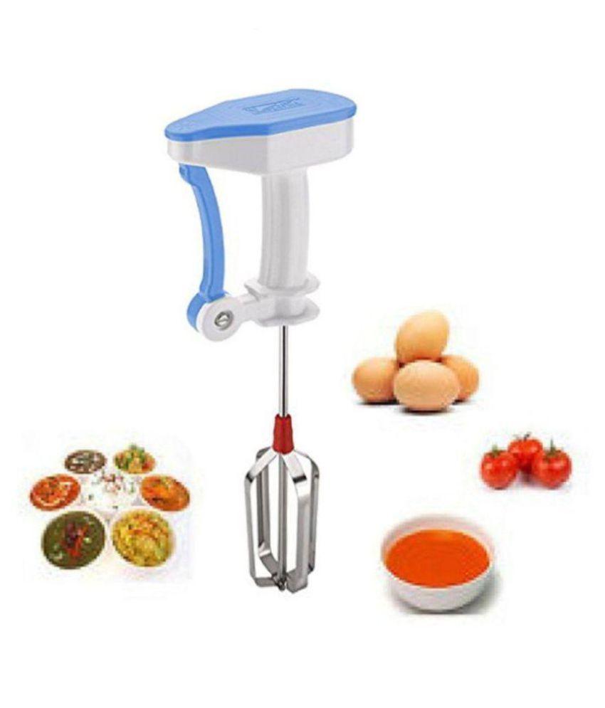 Stainless Steel Vestire Manual Hand Blender for Egg & Cream Beater, Milkshake, Lassi, Butter Milk Mixer