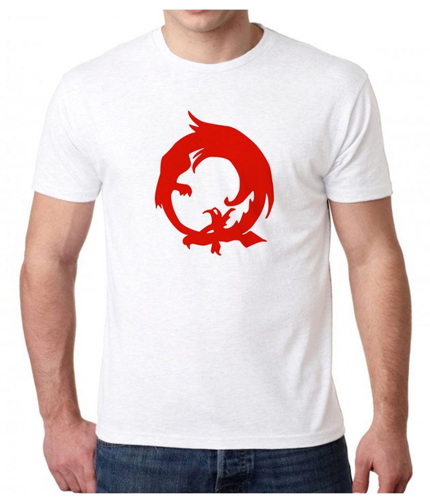 The Heyuze Haat White Half Sleeve T-Shirt Pack of 1