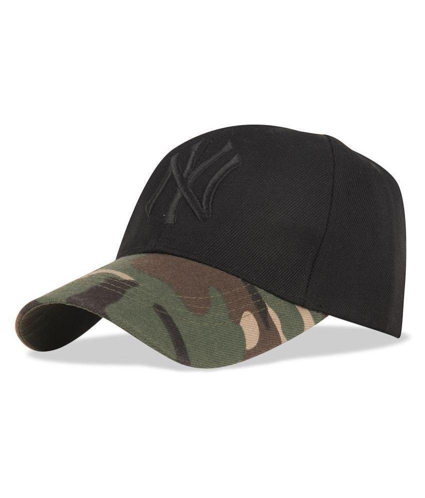 Drunken Khaki Black Cap for boys and cap for girls