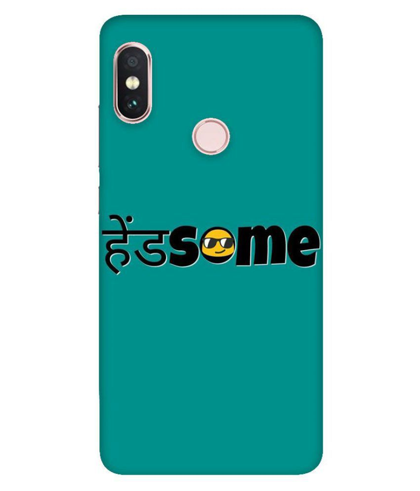 Xiaomi Redmi Note 6 Pro Printed Cover By Emble