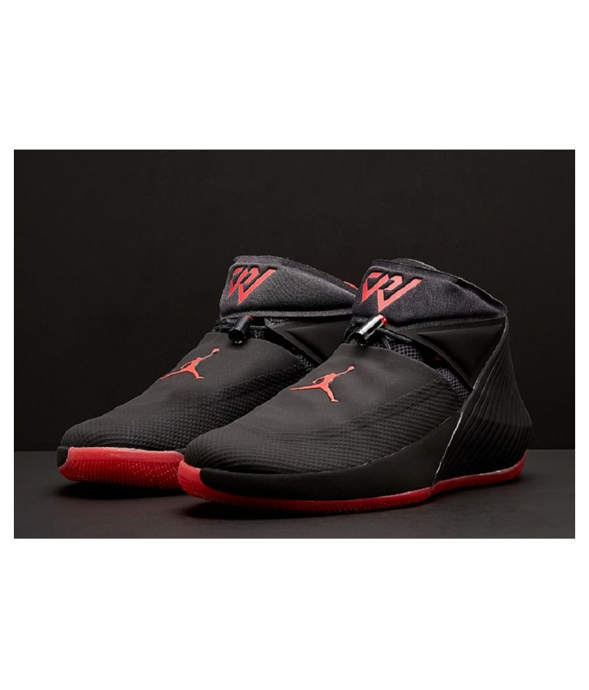 size 40 a95f6 0b3bd Nike Jordan Why Not Zer0.1 Black Running Shoes - Buy Nike Jordan Why Not  Zer0.1 Black Running Shoes Online at Best Prices in India on Snapdeal