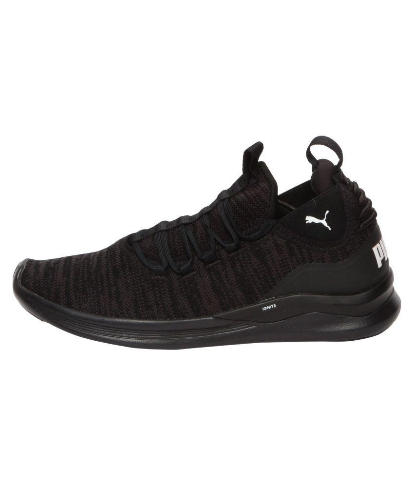 official photos 180c8 bed9b Puma IGNITE Flash Daunt Running Shoes Black